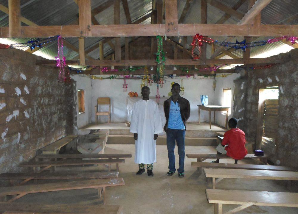 Petite église au Cameroun